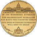 Congressional Gold Medal Edward William Brooke (reverse).jpg