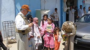 Haditha - Congressional delegation meets the people on the streets of Hadithah