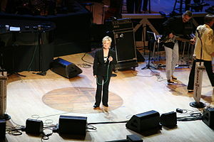 Connie Smith - Smith on stage at the Grand Ole Opry