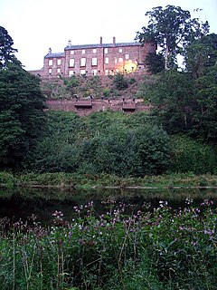 Corby Castle Grade I listed English country house in the United Kingdom