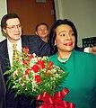 Coretta King with rDr. Levi Watkins (49489009958).jpg