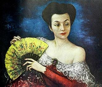 Cornelia Otis Skinner - Portrait of Cornelia Otis Skinner by Gladys Rockmore Davis