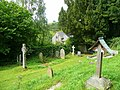 Corner of Stowe churchyard - geograph.org.uk - 869931.jpg