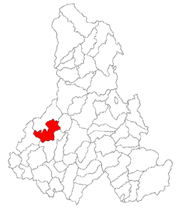 Location of Corund