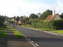 Cottages in Little Bookham Street.JPG