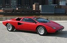La Countach LP400 del 1974