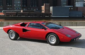 Lamborghini Countach - The Countach LP400 was the original production model