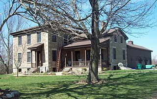 Coverdale Cobblestone House United States historic place