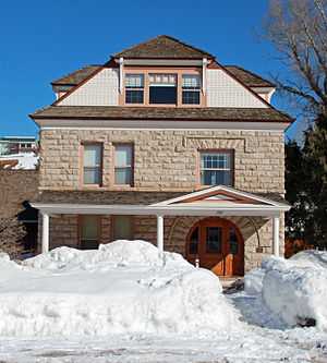 Crawford House (Steamboat Springs, Colorado) - Image: Crawford House