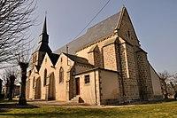 Crevant (Indre) - Eglise St-Aubin.JPG