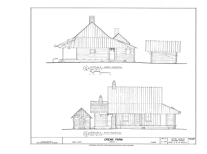 Crews Farm, Macclenny, Baker County, FL HABS FL-398 (sheet 8 of 24).png