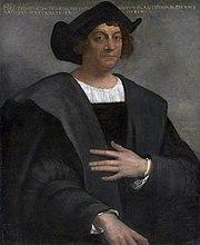 Portrait posthume de Christophe Colomb peint par Sebastiano del Piombo