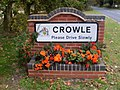 Crowle village sign - geograph.org.uk - 1013892.jpg