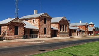 Cue, Western Australia - The Cue police station