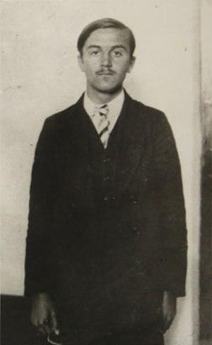 Cvjetko Popović - Cvjetko Popović during the Sarajevo trial, October 1914