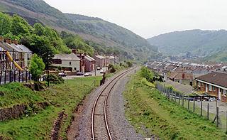 Cwm railway station