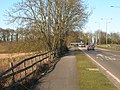 Cycle Path beside the A15 - geograph.org.uk - 1734678.jpg