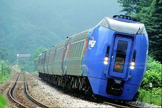 Tilting train - Image: DC283 hokuto 001
