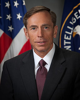 David Petraeus US Army general and public official