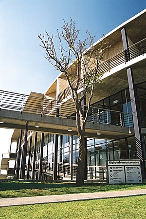 University of Pretoria F.C. -  The university's High Performance Centre on the LC de Villiers Sport Grounds