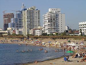 Praia Mansa em Punta del Este, Uruguay. Mansa ...