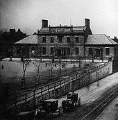Original Dalhousie University building circa 1871