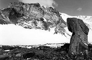 Mount Dallmann - Mount Dallmann, view in SW direction.
