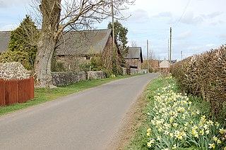 Dalqueich village in United Kingdom
