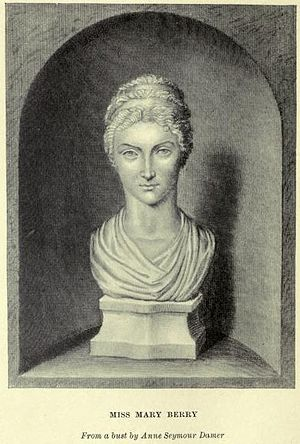 Mary Berry (writer, born 1763) - Image: Damer Mary Berry