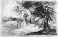 Dan yr Allt mansion, Wales by H R Lloyd (c.1730).png