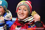 Daniela Iraschko (gold medal) Oslo 2011 medal ceremony 3.jpg