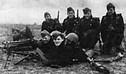 Danish soldiers on 9 April 1940