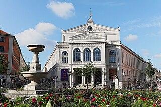 Staatstheater am Gärtnerplatz opera house in Munich, Bavaria, Germany