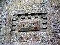 Date stone, St Margaret's Church, Knook - geograph.org.uk - 1479193.jpg