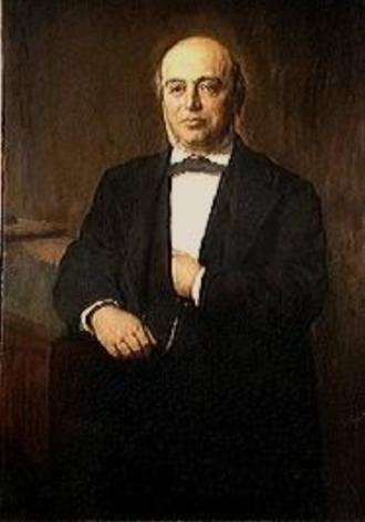 David B. Adler - David b. Adler painted by August Jerndorff in 1900
