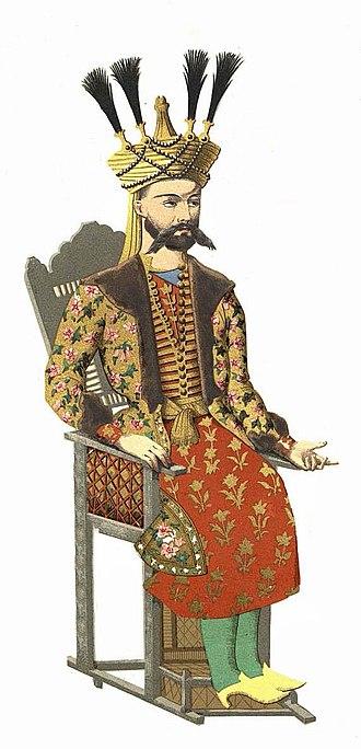 David X of Kartli - Image: David II of Kakheti
