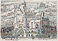 David Milne-The belfry hotel de ville arras on a cloudy day.jpg