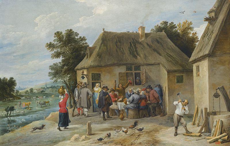 File:David Teniers II Countryside Inn 1654.jpg
