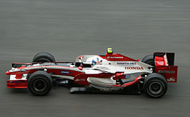 Anthony Davidson in de Super Aguri SA05