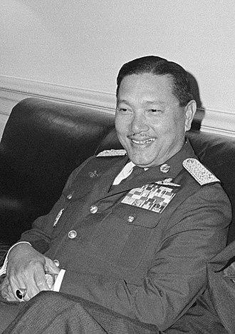 Dawee Chullasapya - ACM Dawee Chullasapya in 1965