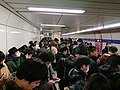 Day 1 - Oimachi Station platform crowding.jpeg