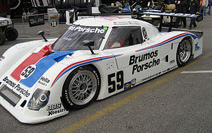 Rolex Sports Car Series - A 2007 Riley MkXI Daytona Prototype seen as the 2007 Rolex 24 At Daytona.