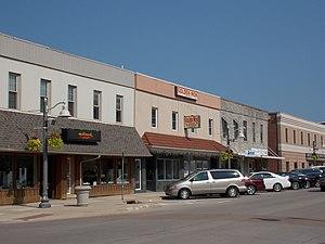 DeWitt, Iowa - Buildings along Sixth Avenue