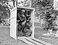 De Denker van Rodin wordt uit kist gehaald voor plaatsing in de beeldentuin va, Bestanddeelnr 907-8867.jpg