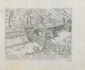 De Fransen verdreven uit Antwerpen in januari 1583