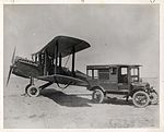 De Havilland Airmail Plane and Mail Truck (2536752976).jpg