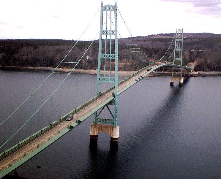 Deer Isle Bridge by G F