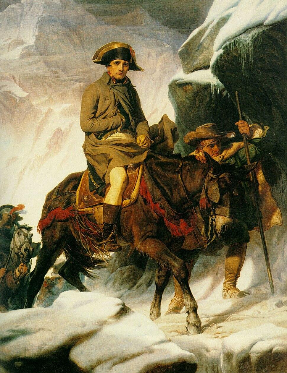 Delaroche - Bonaparte franchissant les Alpes