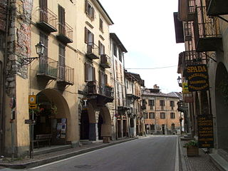 Demonte Comune in Piedmont, Italy
