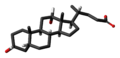 Deoxycholic acid 3D skeletal.png